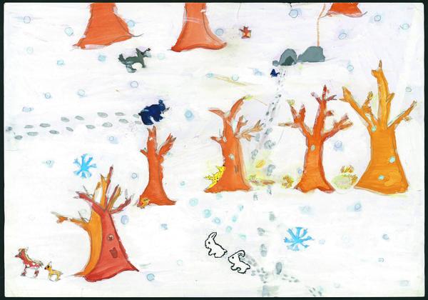 ふぶきの森