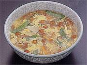 中国風生なめこのスープ